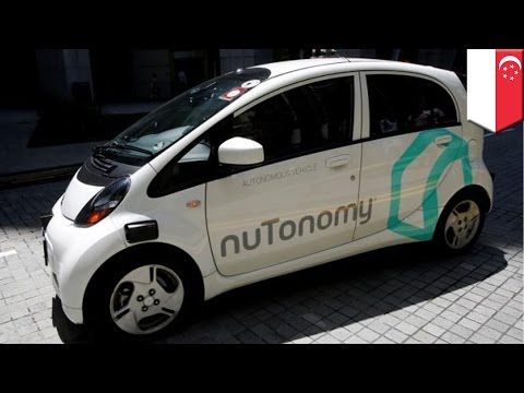 Driverless taxi: Singapore gets world's first self-driving taxi cab service - TomoNews