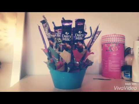Beautiful Handmade Chocolate Bouquet Youtube