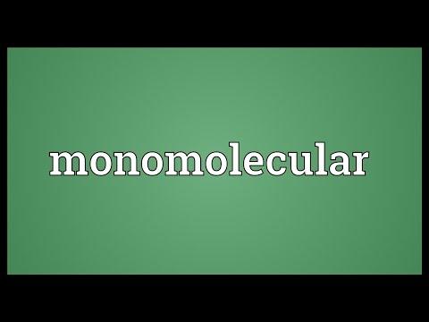 Header of monomolecular