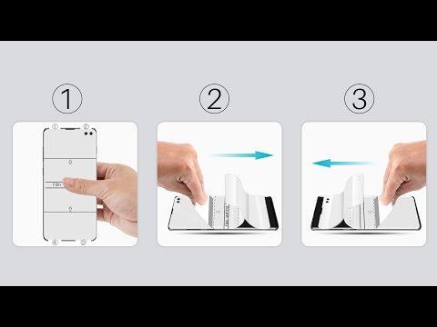 LK flexible film Screen Protector installation video