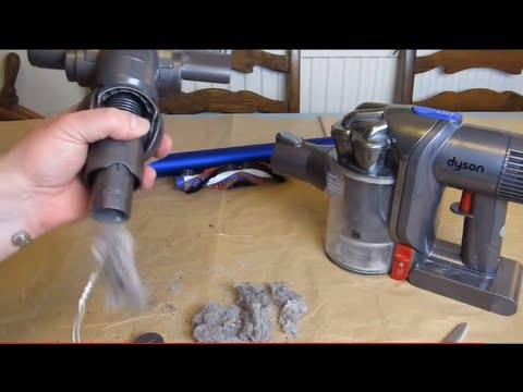Dyson DC44 - How to Remove Blockages - An owners guide - Digital Slim Mk2 DC44 DC 59 DC45 Animal