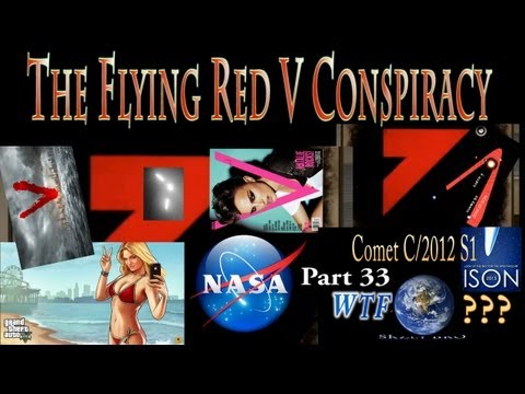 Comet ISON & The Flying Red V Conspiracy