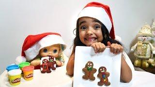 BABYALIVE faz Biscoitinhos de Natal com Bia Lobo