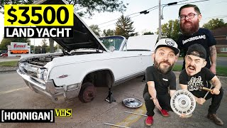 "homepage tile video photo for What Did We Buy!? Our $3500 ""Luxury"" Barge for Woodward Dream Cruise 2019"