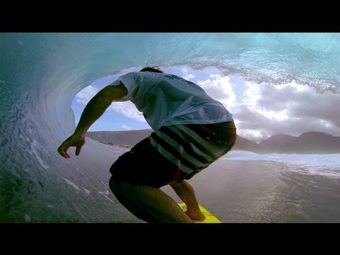 GoPro: Kalani Chapman's giant Teahupoo tube