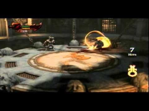 God of War 3 Walkthrough guia Desafios del Olimpo EL MATADOR OLE 4/7