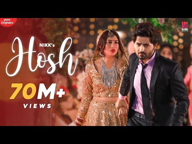 Hosh (Official HD Video) Nikk | Mahira Sharma | RoxA | Latest Punjabi Songs 2020 | New Punjabi Song - BANG Music