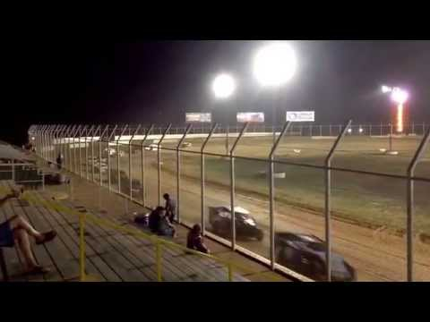 101 IMCA Southern Sport Mod - August 7, 2015 - A Feature Part 1