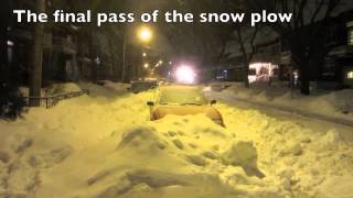 City Snow Removal - Montreal, Qc - Jan 4, 2013