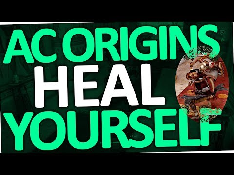 """Assassin's Creed Origins - How to heal yourself & fix regeneration """"bug"""" (AC)"""