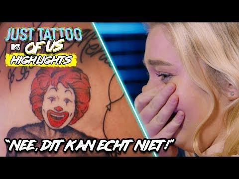 """WAT BEZIELDE JE IN GODSNAAM OM DEZE TATTOO TE ZETTEN?!"" | Just Tattoo of Us Benelux  - Highlights"