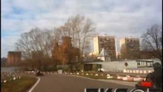картинг 2я лига 7 ноябрь 2010 Москва картинг клуб