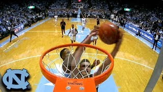 UNC's Seventh Woods' Chasedown Block vs. ND