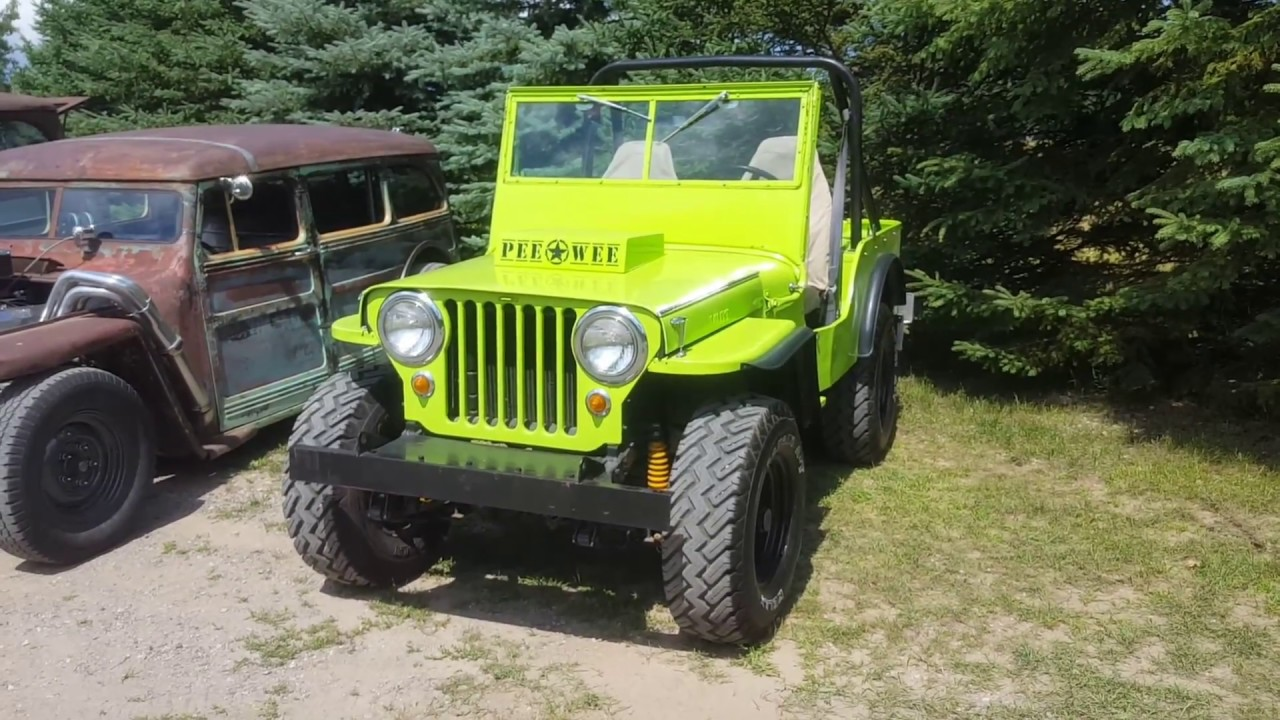 Flat Fender Jeep >> 47 Willys Jeep Cj2a Flat Fender Dad Got His Ride Youtube