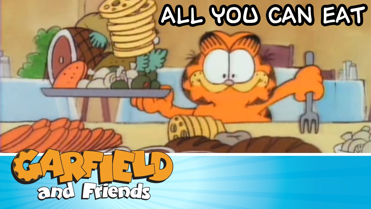 All You Can Eat Garfield Friends Youtube