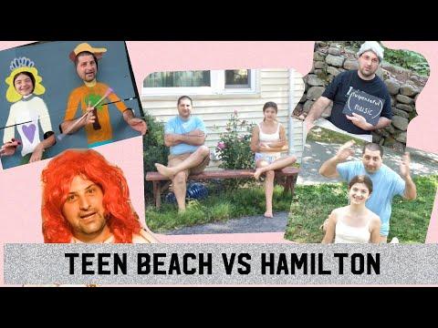 Teen Beach VS Hamilton (Can't Stop Singing/My Shot mashup)