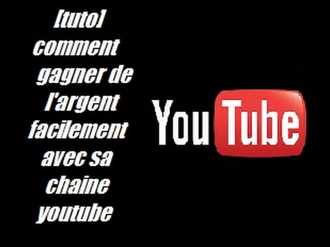 tuto comment gagner de l 39 argent facilement avec sa chaine youtube youtube. Black Bedroom Furniture Sets. Home Design Ideas