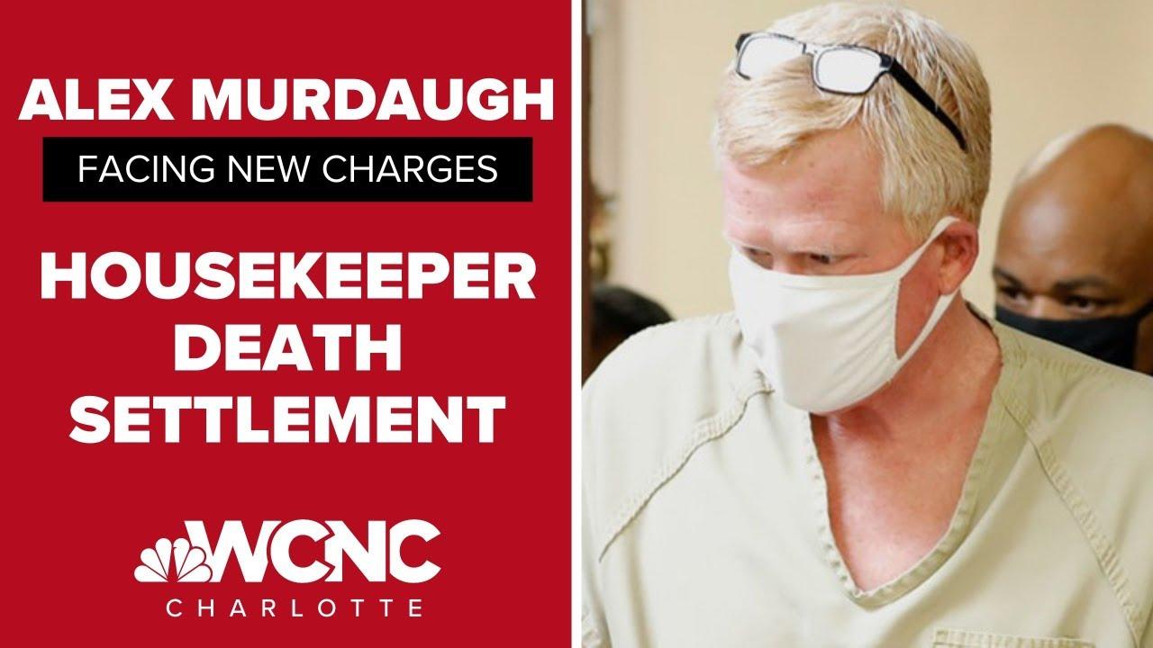 South Carolina lawyer Alex Murdaugh is arrested on new felony ...