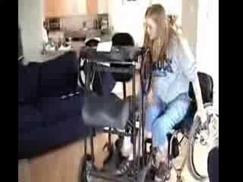 Paraplegic Ellen Sthol Doovi