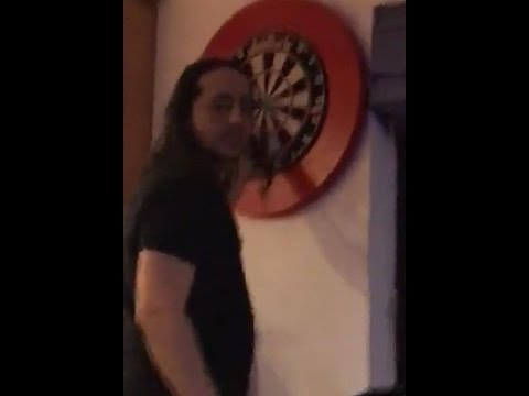 System Of A Down playing darts at Daron Malakian's house (November 10, 2016)