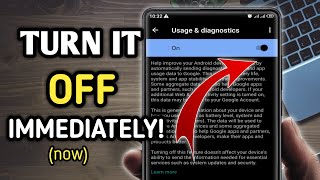 Android settings you need to turn off now 2021#Android