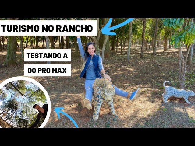 O QUE FAZER NO RANCHO - Testando a GoPro #episódio2