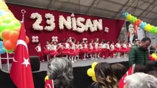 Yükselen Koleji İlkokulu 23 Nisan gösterisi