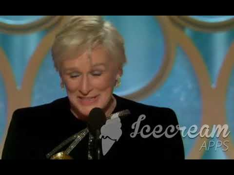 "Glenn Close Wins ""Best Performance by an Actress in a Motion Picture Drama"" 2019 Golden Globe Awards"