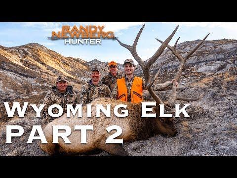 2018 Wyoming Late Season Elk Hunt with Randy and Matthew Newberg (Part 2)