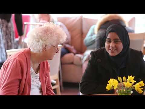 Students volunteer at Ashlyns Care Home