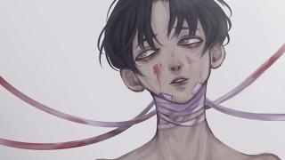 Speedpaint- Yoonbum from 'Killing Stalking'
