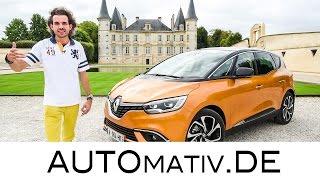 2017 Renault Scenic (135 PS, Sechsgang-Schaltgetriebe) im Test, Fahrbericht - Review