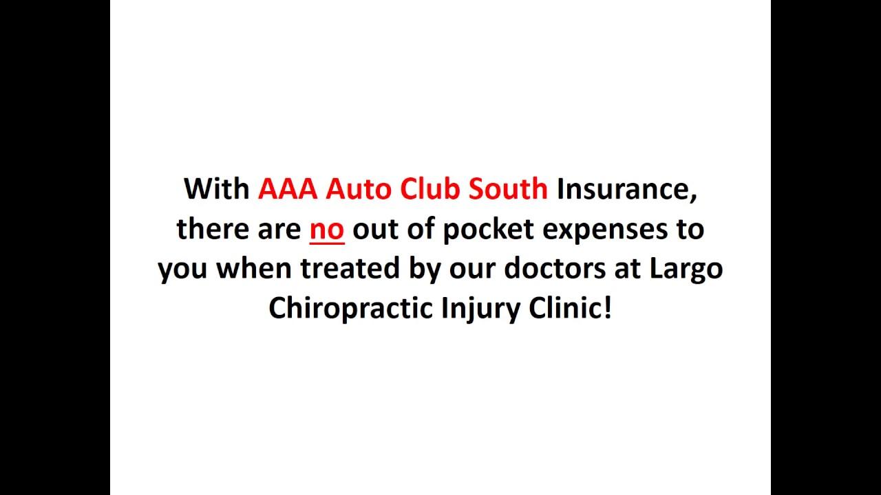 Aaa Auto Club South Insurance Chiropractor Largo Florida