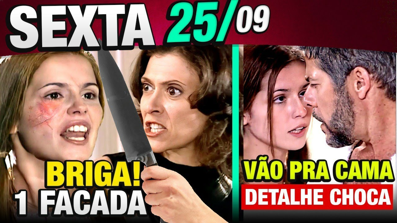 LAÇOS DE FAMÍLIA - Capítulo de  25/09 SEXTA - Resumo Completo da novela Laços de Família