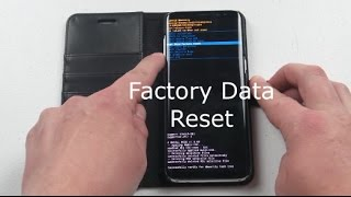 Hard Key Factory Data Reset Galaxy S8/S8+