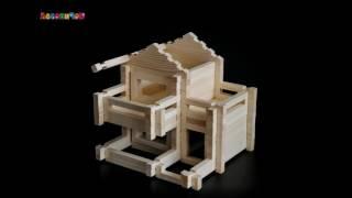 конструктор Lesovichok House N3 LES003 обзор