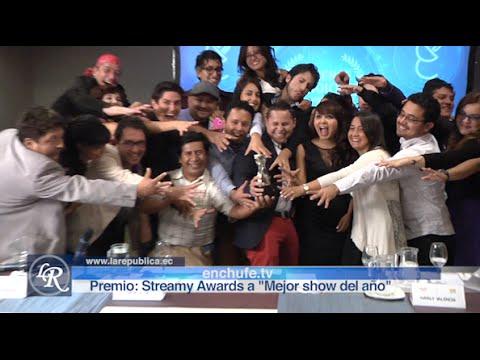 enchufe.tv backstage en Streamy Award | La República EC