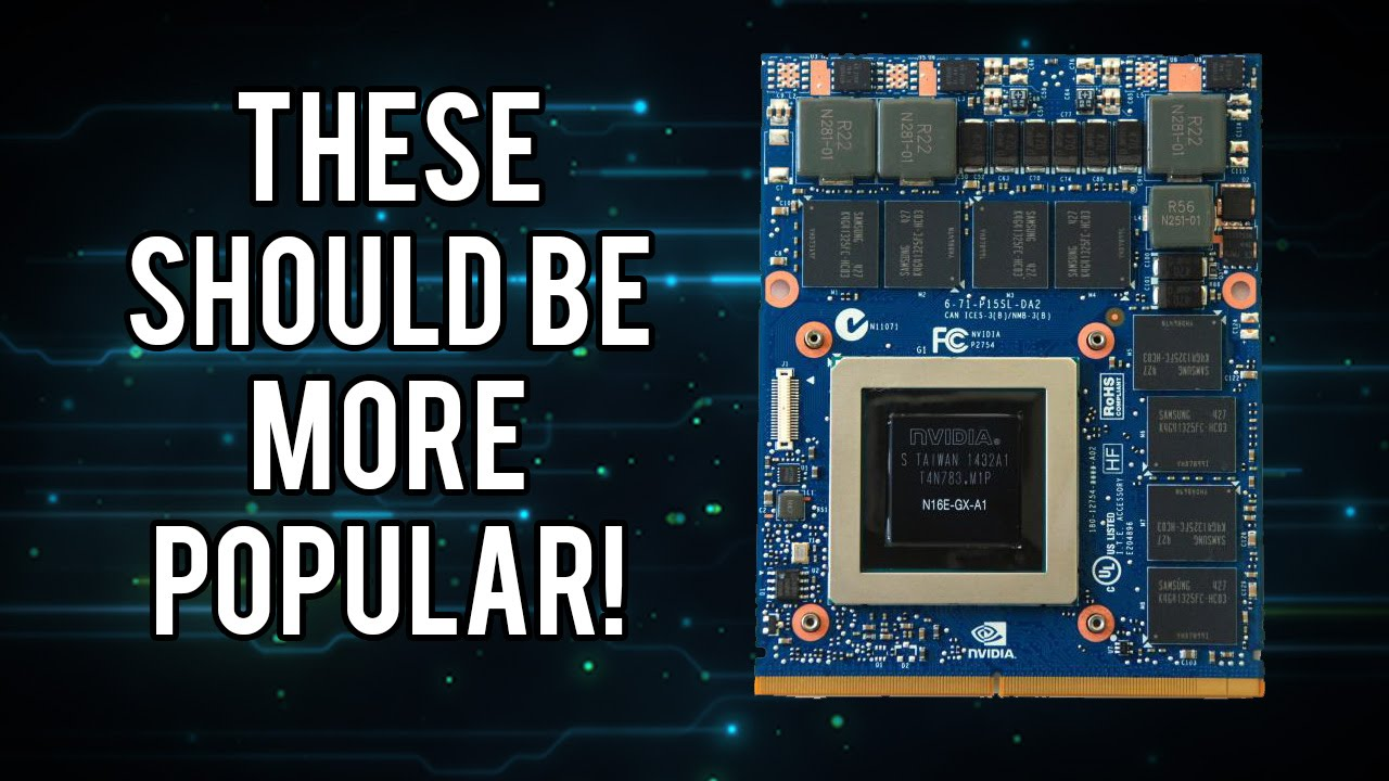 Why is Mobile PCI-E (MXM) Still Not Mainstream?