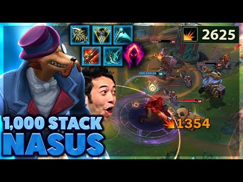 I ACTUALLY BROKE THE GAME | I SHOW MY SISTER!! | 1,000 STACK NASUS - Bunny FuFuu