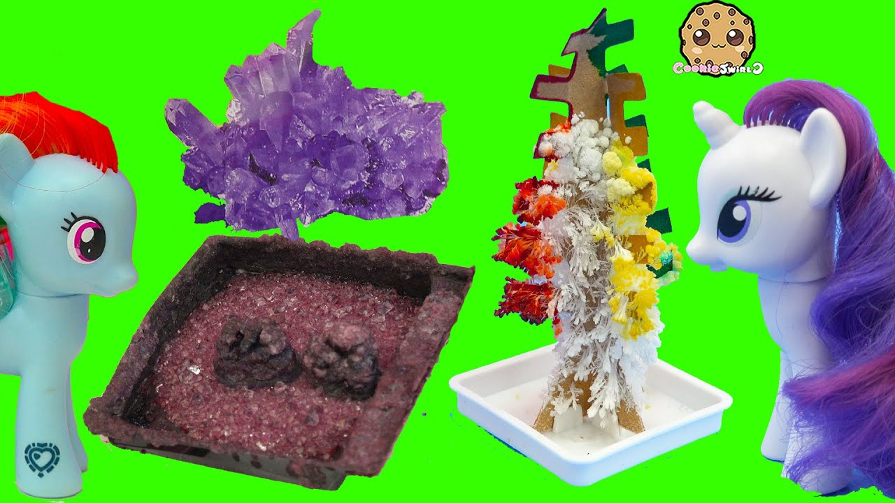 Grown Your Own Rainbow Crystal Tree Rocks Dollar Tree Crafts