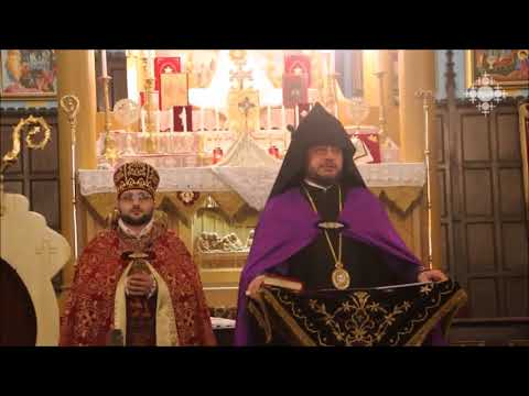 Holy Relics of St. Jacob of Nisibis in Montreal, 17.06.2018 (Shoghakat TV)