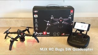 MJX Bugs 5W Drone Review