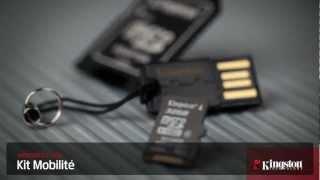 Kit Mobilité MicroSD pour utiliser des cartes microSD dans des emplacements SD et des ports USB