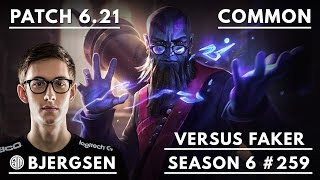 259. Bjergsen VERSUS Faker - Ryze vs Cassiopeia - Mid - October 27th, 2016 - S6 Patch 6.21