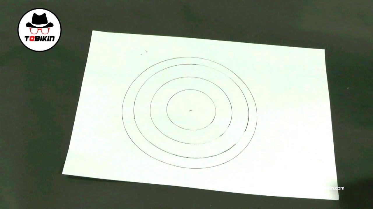 Cara Membuat Lingkaran Tanpa Jangka Youtube