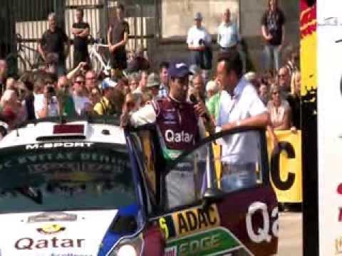 Nasser Al Attiyah reality tv show episode 5 WRC Germany