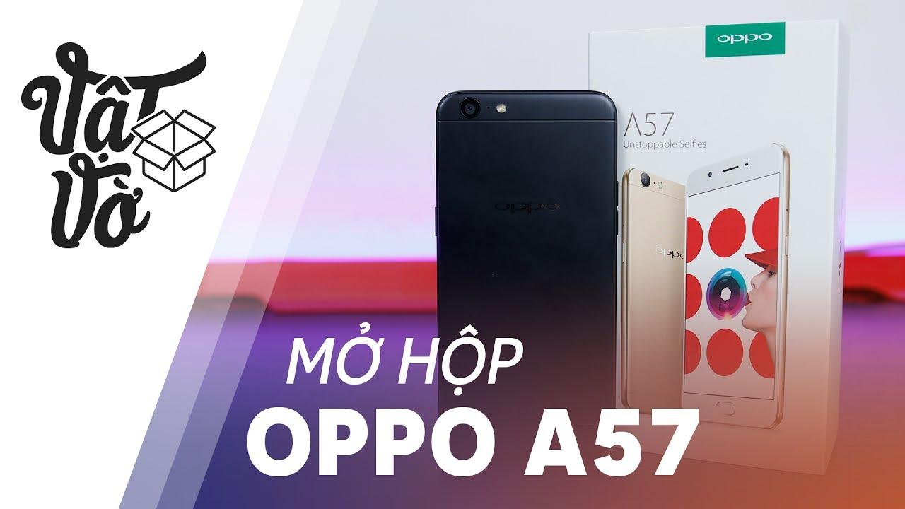 """Mở hộp OPPO F3 Lite(A57): """"Sơn Tùng mini"""""""