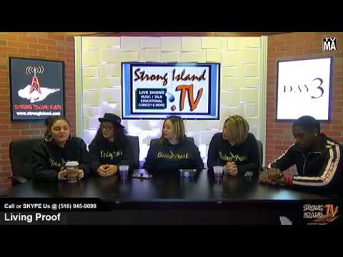 HERSTORY- Radio Interview at Living Proof on Strong Island Radio Show
