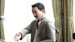 2017/4/15 大山崎山荘美術館で行われた漱石アンドロイドの講演。10:30の...