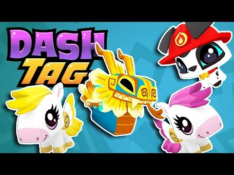 Four NEW Super Rare Pets! | Dash Tag Endless Runner Game Update